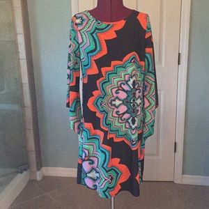 Pretty aryeh shift abstract dress